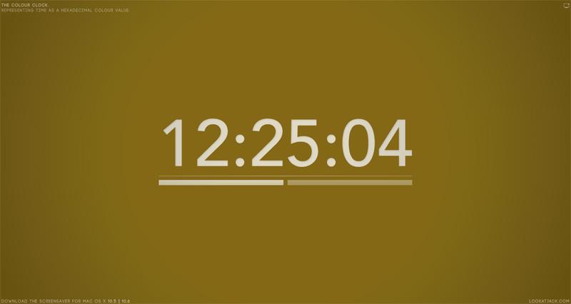 Portada - Reloj hexadecimal