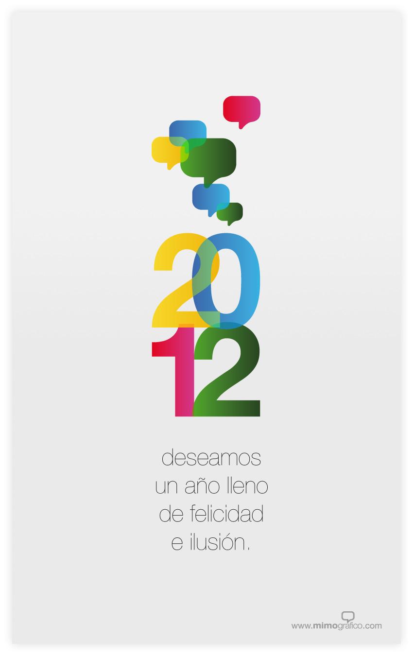 Portada - Os deseamos un 2012 lleno de felicidad e ilusión