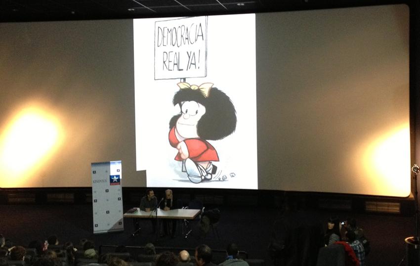 Portada - Quino (Creador de Mafalda) en Granada