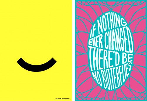 Portada - Concurso de carteles sobre pensamiento positivo