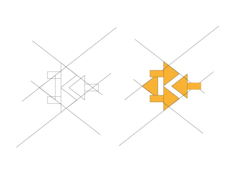 Diseño gráfico y web Granada, mimográfico. Imagen Corporativa Kinepolis logotipo