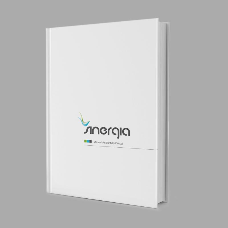 Diseño gráfico y web Granada, mimográfico. Identidad Corporativa Sinergia