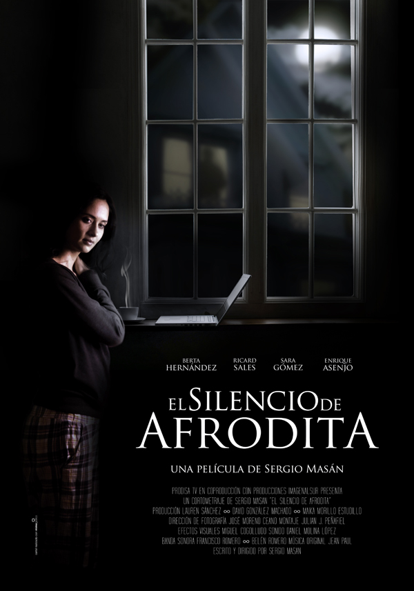 Portada - El Silencio de Afrodita, un cartel con mucho mimo!!