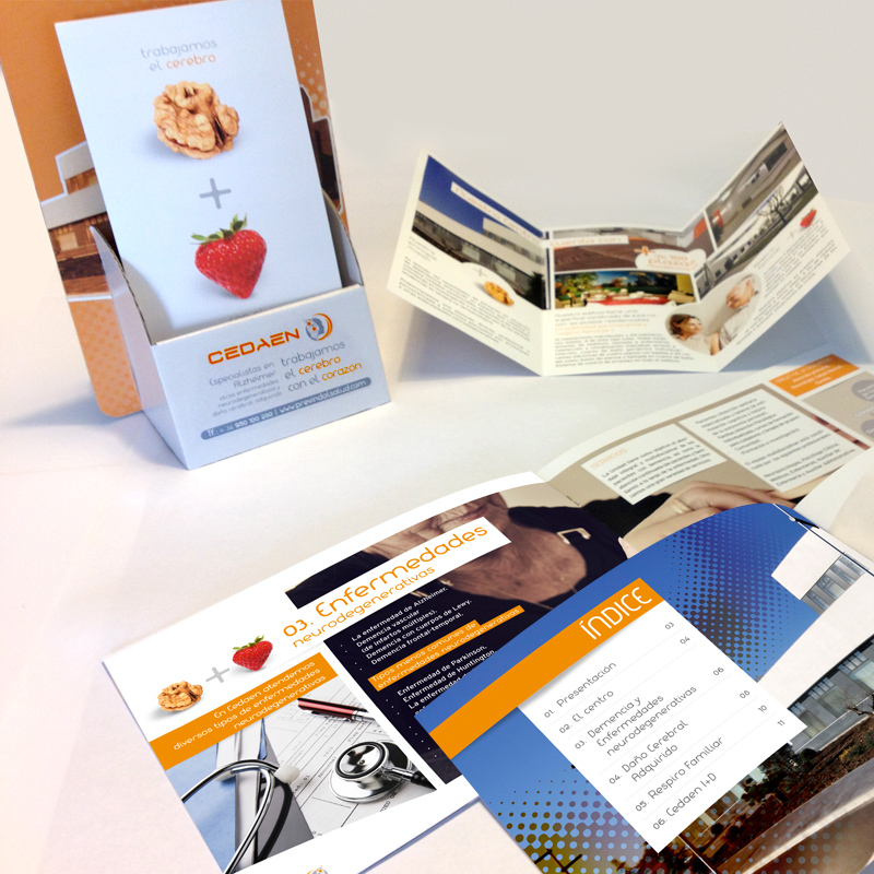 Diseño gráfico web Granada, con mimo. Campaña Cedaen.