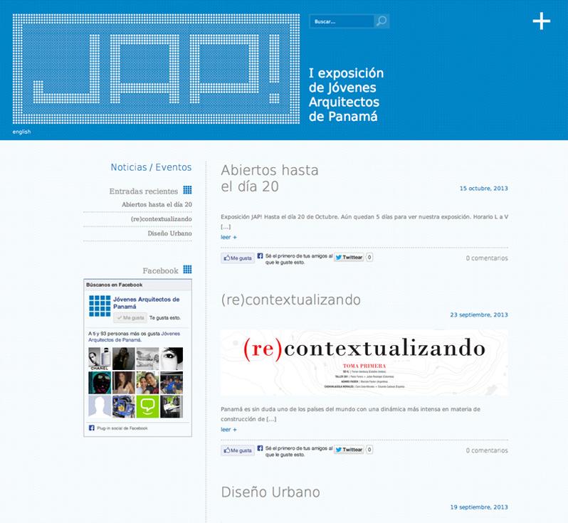 Diseño web Granada, con mimo. JAP! web corporativa 5