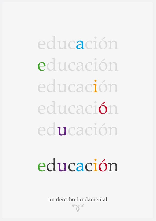 Portada - Educación: un derecho fundamental