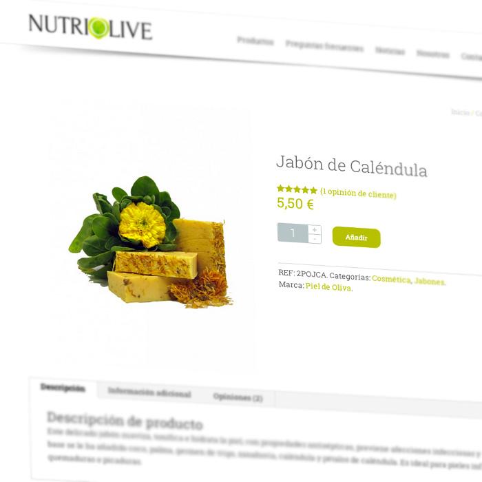 Diseño web tienda online Granada, elaborado con mimo.