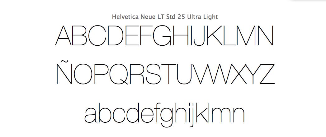 tipografia-helvetica-ultralight