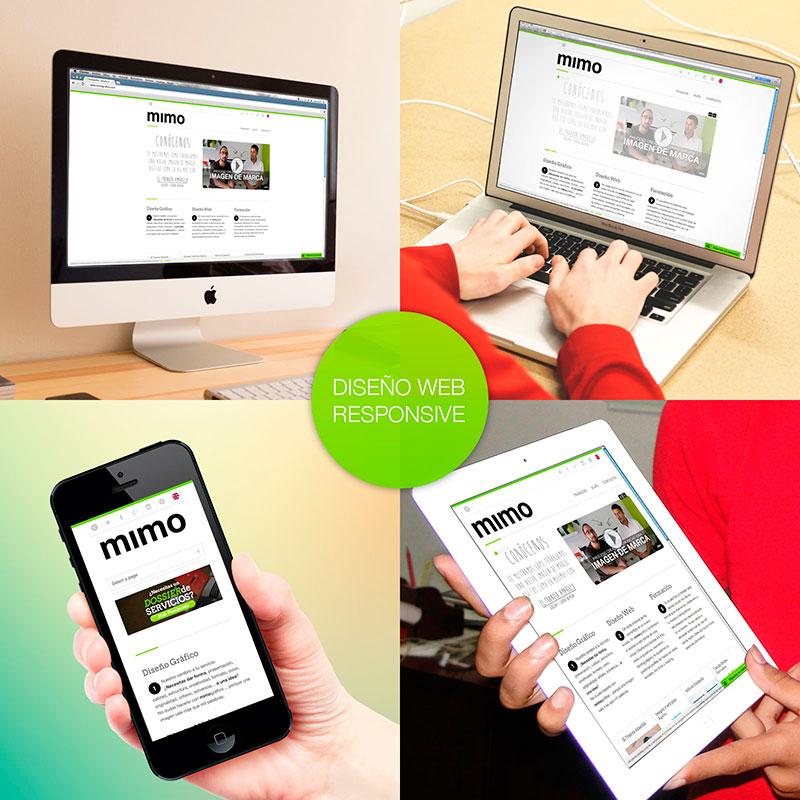 Portada - Diseño web responsive