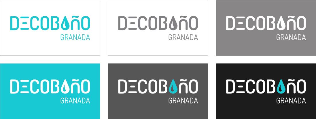 decobaño logotipo colores
