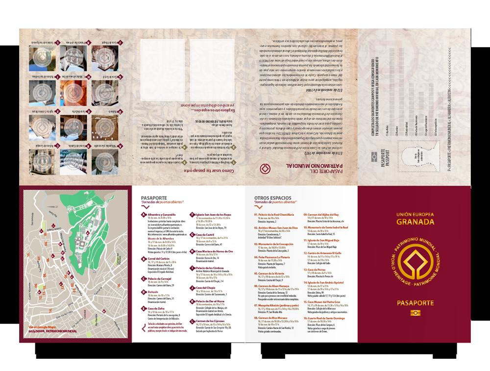 pasaporte Alhambra Cara B
