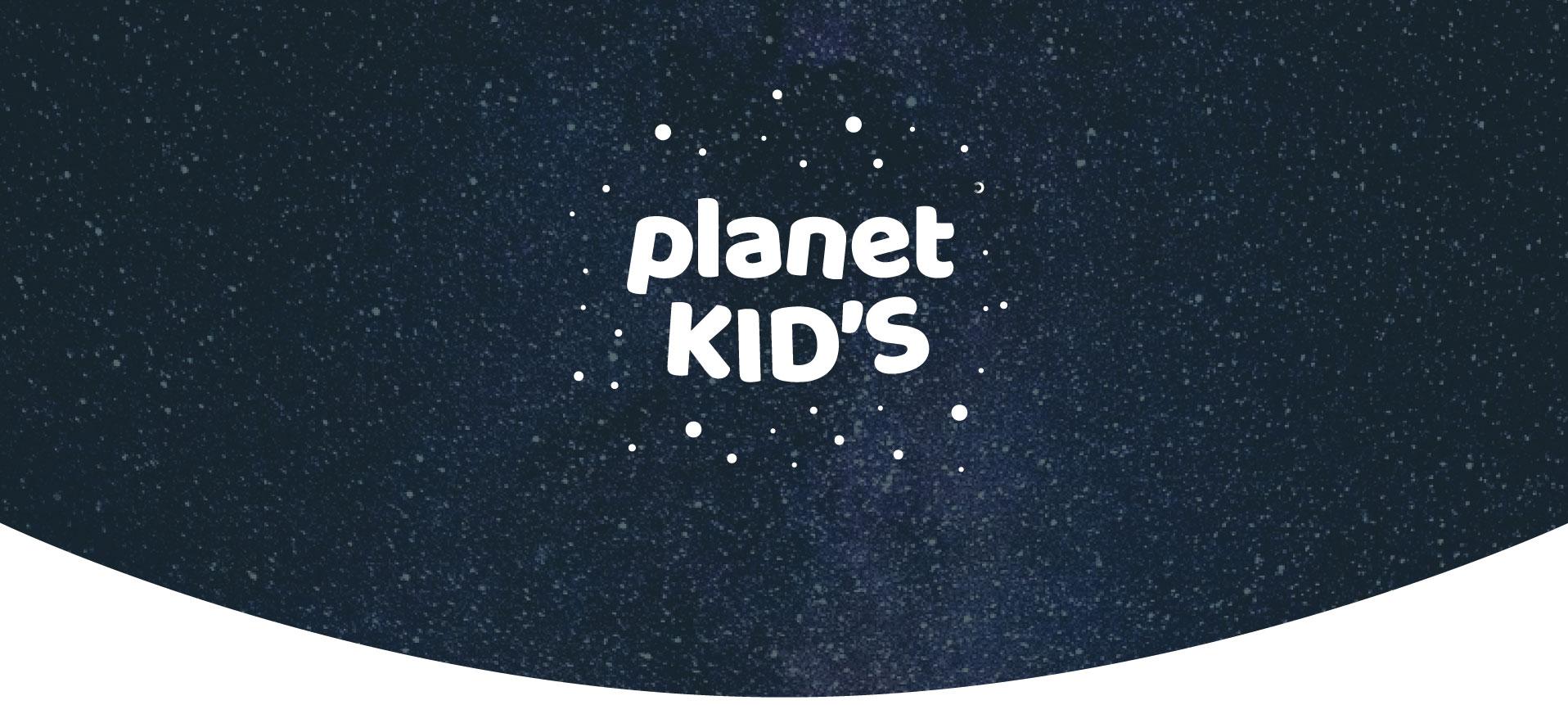 Planet kid's logo