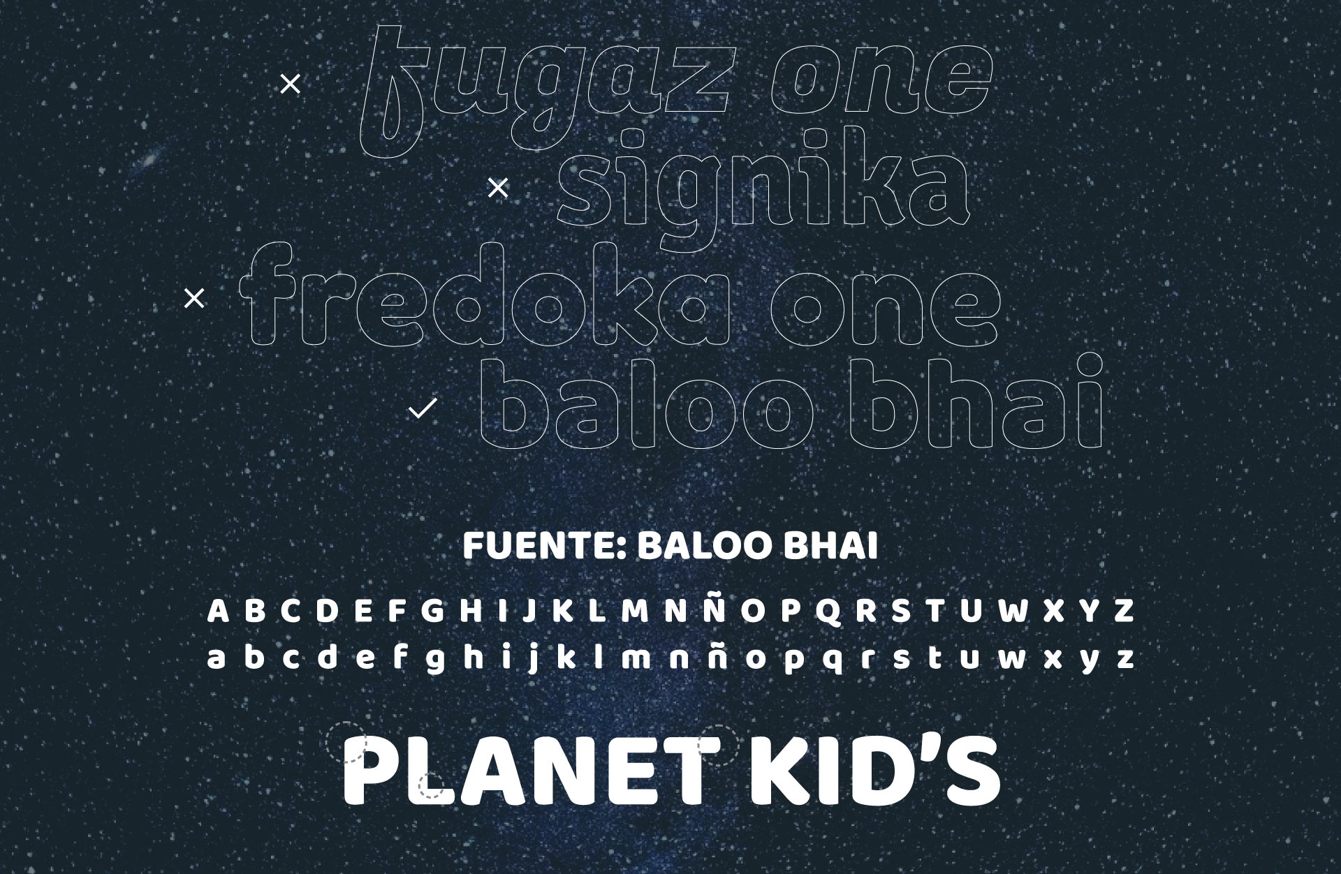 Planet kid's elección tipo movil