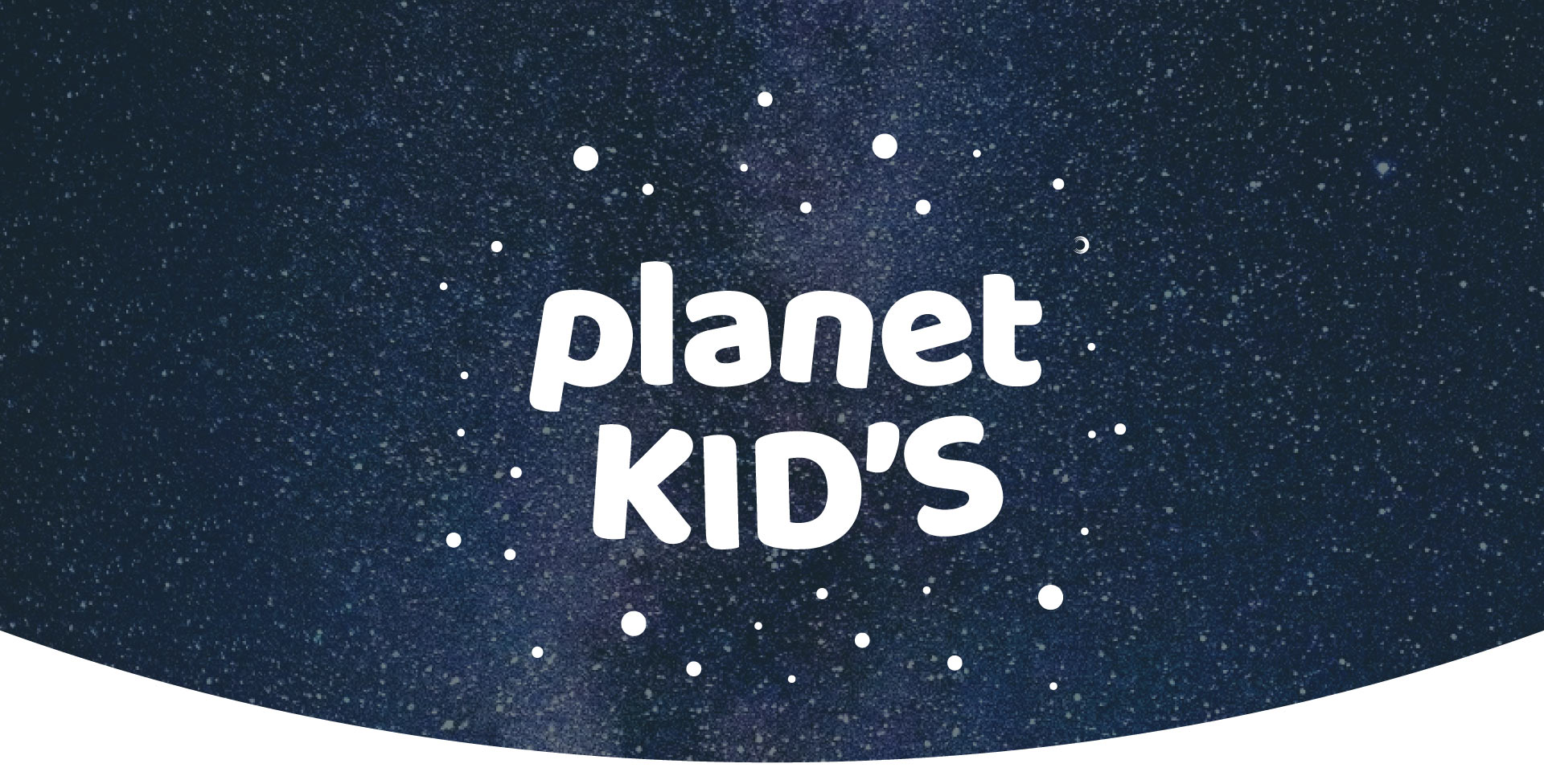 Planet kid's logo movil