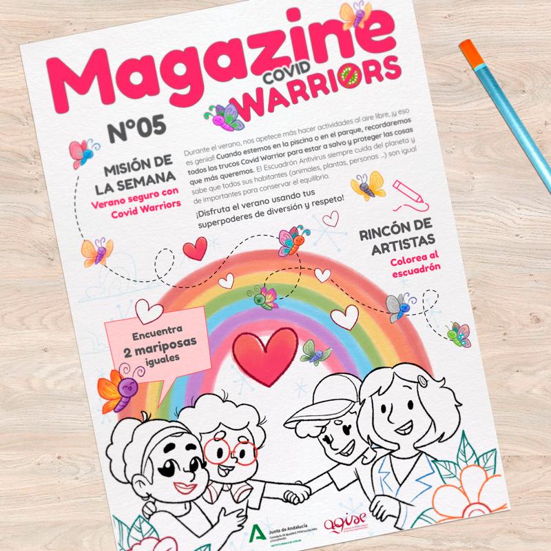 magazine Covid Warrios