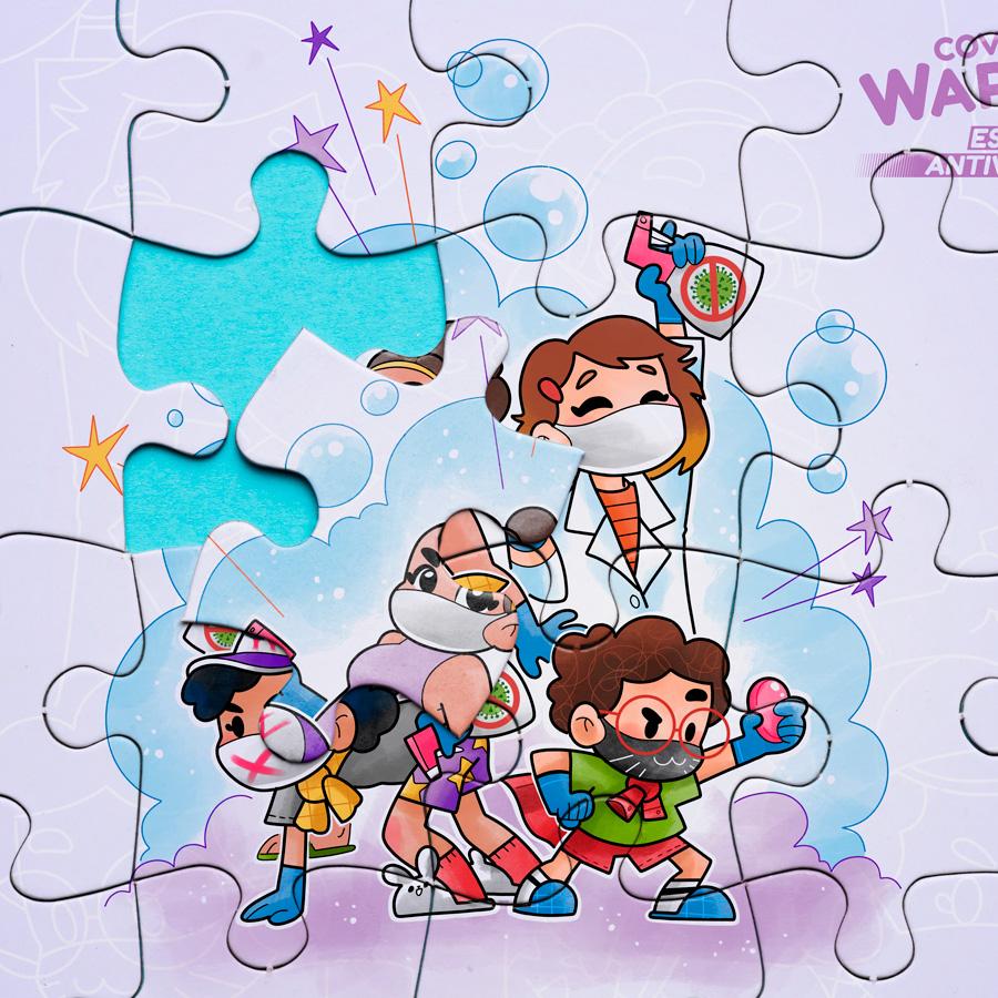 Puzzle Covid Warriors